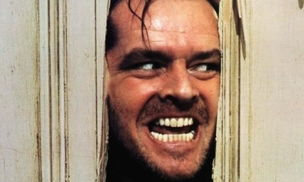 """""""Here's Johnny"""", The Shining (1980)"""