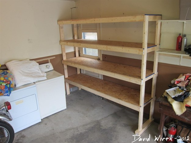 Let the wood stay unfinished, and use it as massive, cheap shelving in your garage.