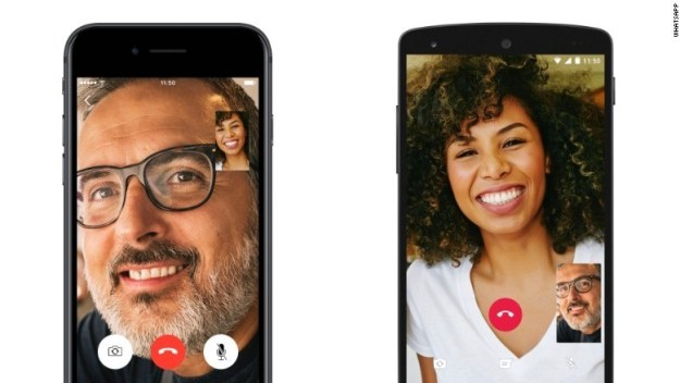 The new feature competes directly with established video calling platforms like FaceTime, Hangouts, and Google's newest app, Duo