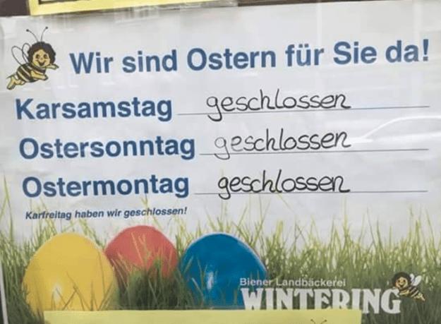 Service in Deutschland in einem Bild: