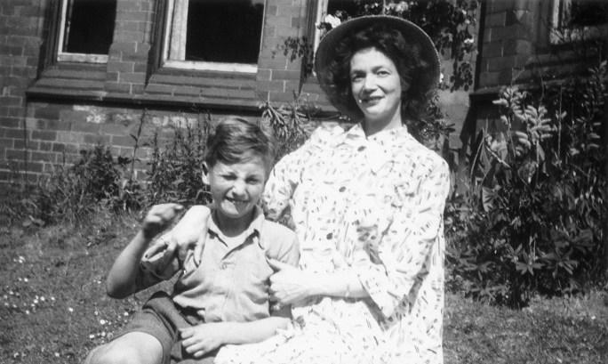 John Lennon as a 9 year old in 1949.
