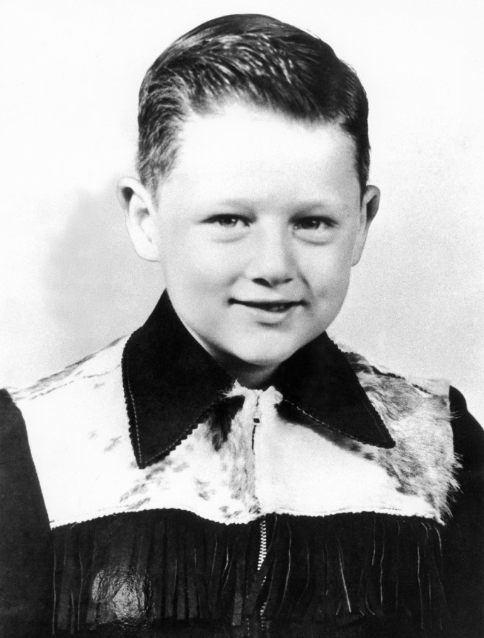 Bill Clinton as a 6 year old in 1952.