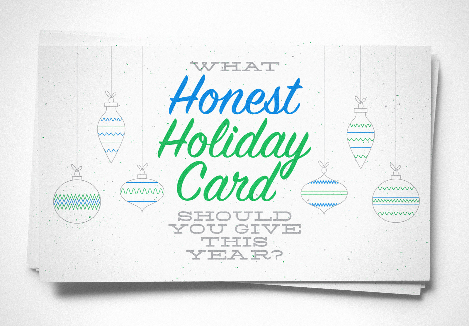 What Honest Holiday Card Should You Give This Year