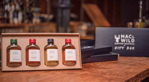 Pre-Bottled Cocktails Gift Box, £23.38.