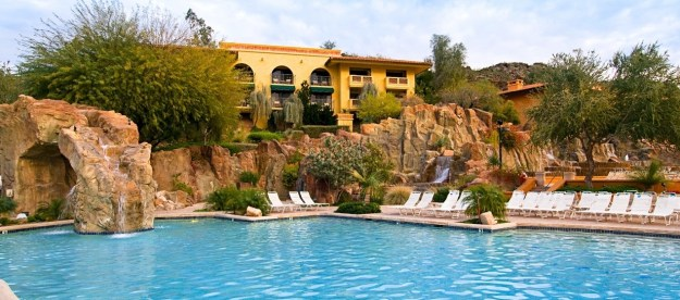 And then cool off by exploring one of the EIGHT pools at The Pointe Tapatio Cliff's Resort.