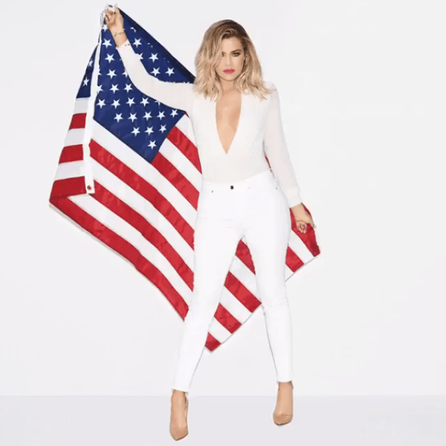 "Back in March, Khloe wrote on her app: ""No matter what candidate you support for the next presidential election, you have to admit that it's f*cking AWESOME that a woman is up for the job!!! Hillary Clinton deserves a big 'DAAAAAAAMN, Gina!' for being the first to get this close. So dope."""