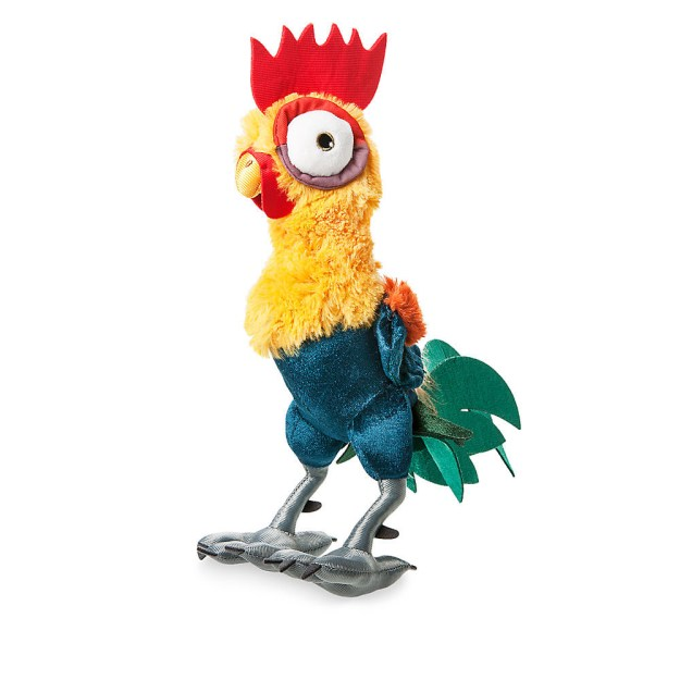 A plush version of Heihei (the scene-stealing rooster from Moana).