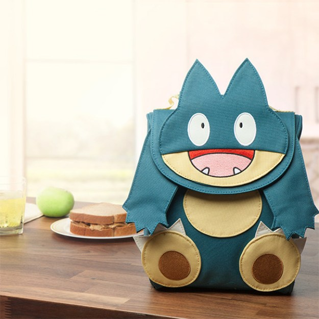 And a lunchbox that looks like Munchlax.