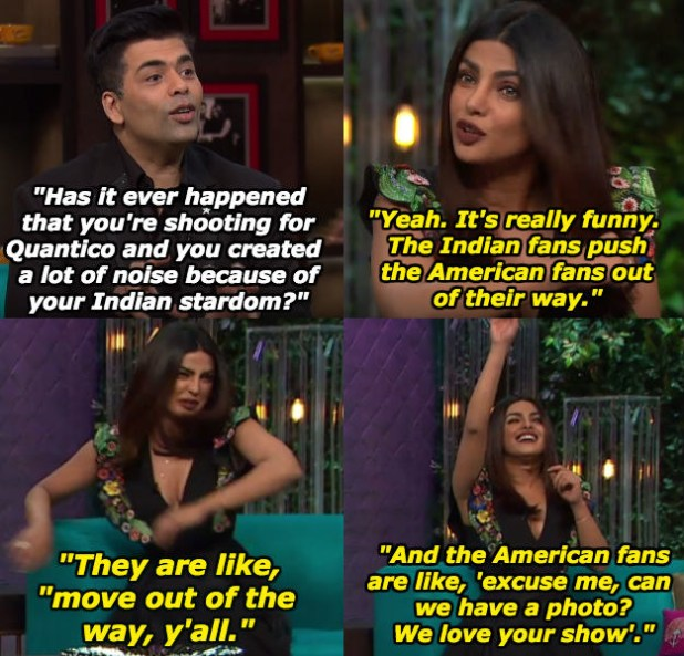 When she shared this hilariously adorable feature of her Indian fans.