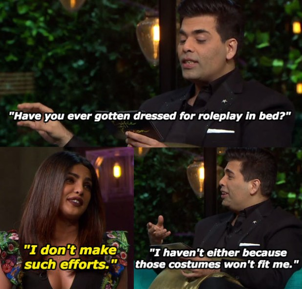 When Priyanka said it how it is.