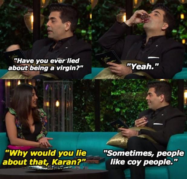 When Karan pulled a Salman Khan.