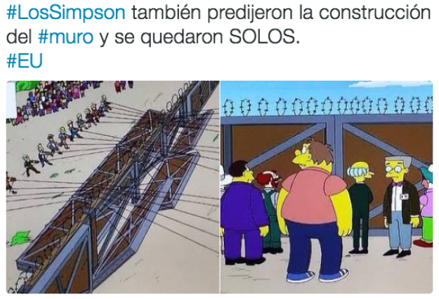 As expected, The Simpsons predicted everything.