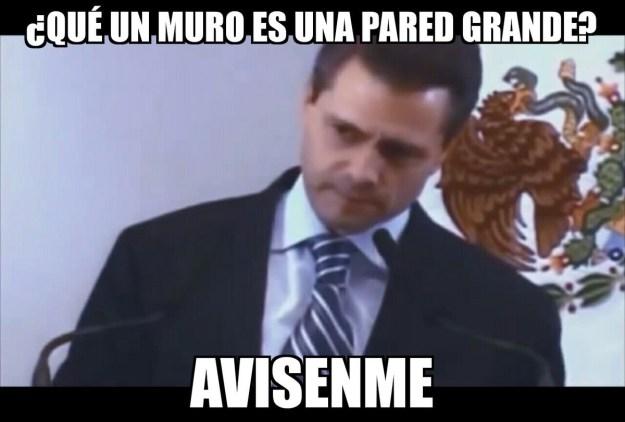 This meme suggests it wasn't President Peña Nieto's fault — it was all just a big misunderstanding...
