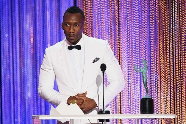 When Mahershala Ali gave a powerful speech about the pain of persecution and his Muslim identity.