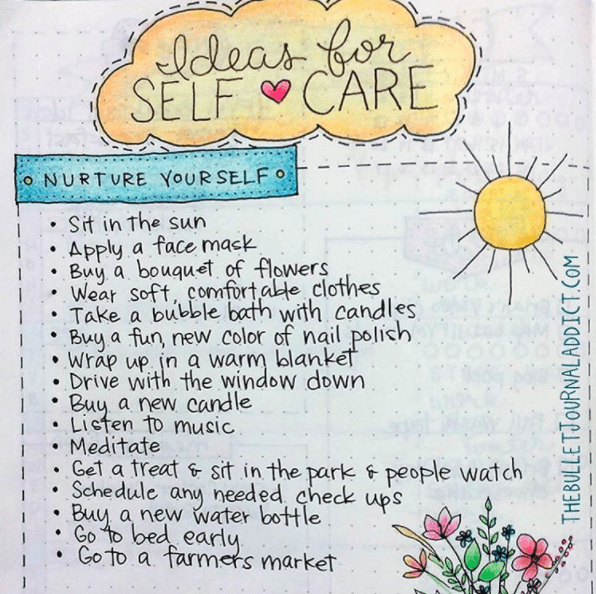 These ideas for self-care to keep tucked away for when you need them: