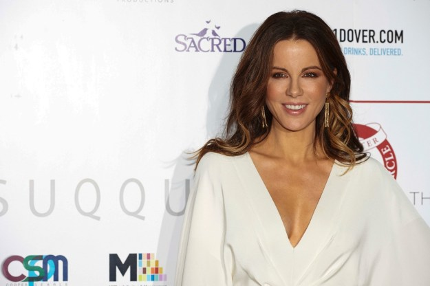 This is Kate Beckinsale. She an actress who has been in many, many films over the years.