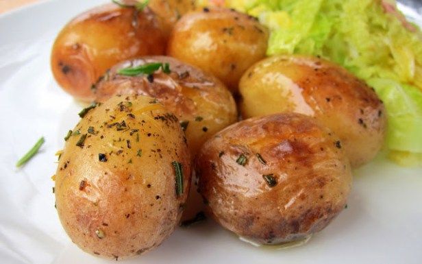 What could be better than simple, melt-in-your-mouth potatoes? Get the recipe here.