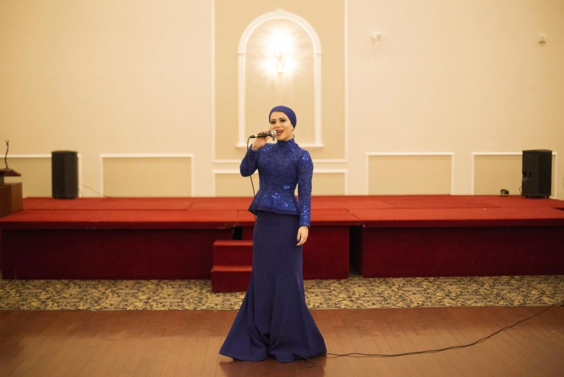 She's the creactor of The Sisters Project, a series of portraits of her fellow Muslim women that show the diversity of a group of people so often subject to stereotypes.