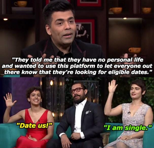 When Sanya Malhotra and Fatima Sana Shaikh just wanted some dates.