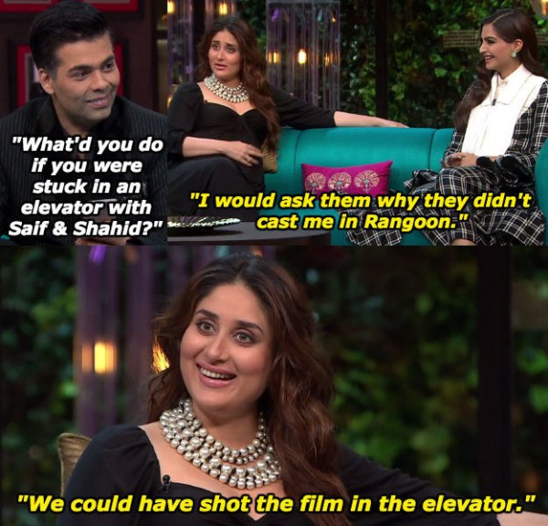 When Kareena Kapoor Khan wanted to feature in a love triangle with her husband and her ex.