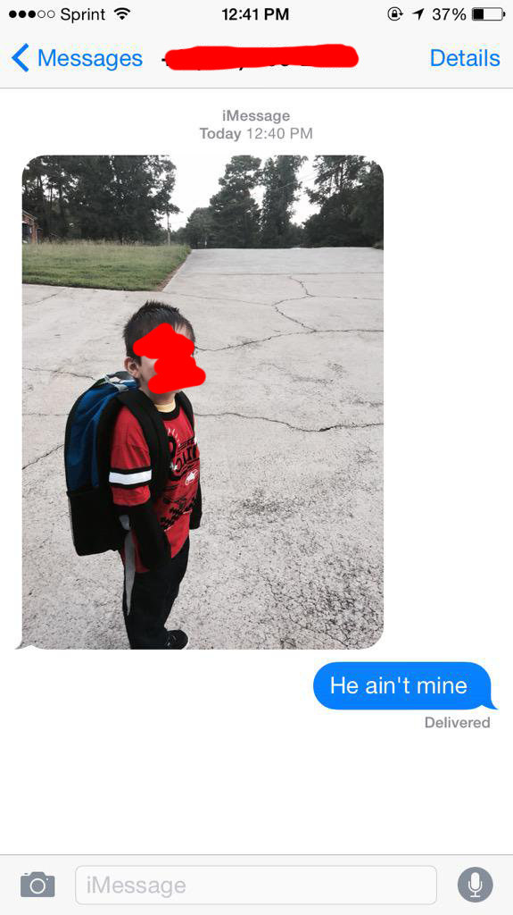 This person who got sent a random picture of someone's kid (and then sent a great response back):