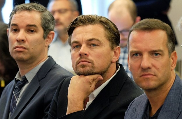 Look at our little peach just so interested in this press conference in 2015: