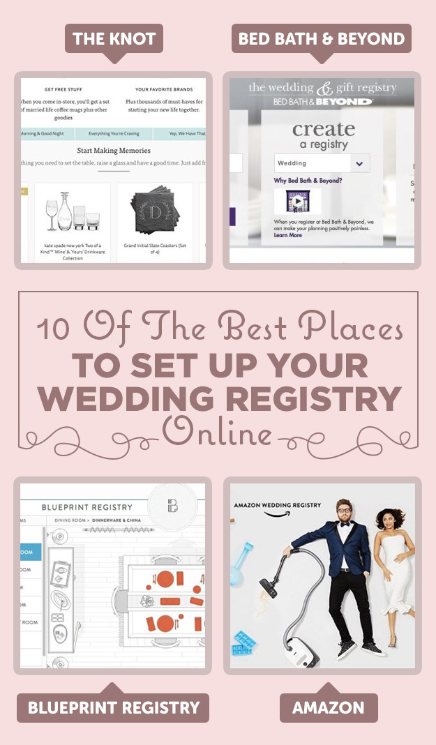 Wedding registry the knot deweddingjpg 10 of the best places to set up your wedding registry malvernweather Gallery