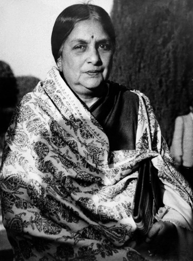 Kamaladevi Chattopadhyay — social activist and Indian freedom fighter.