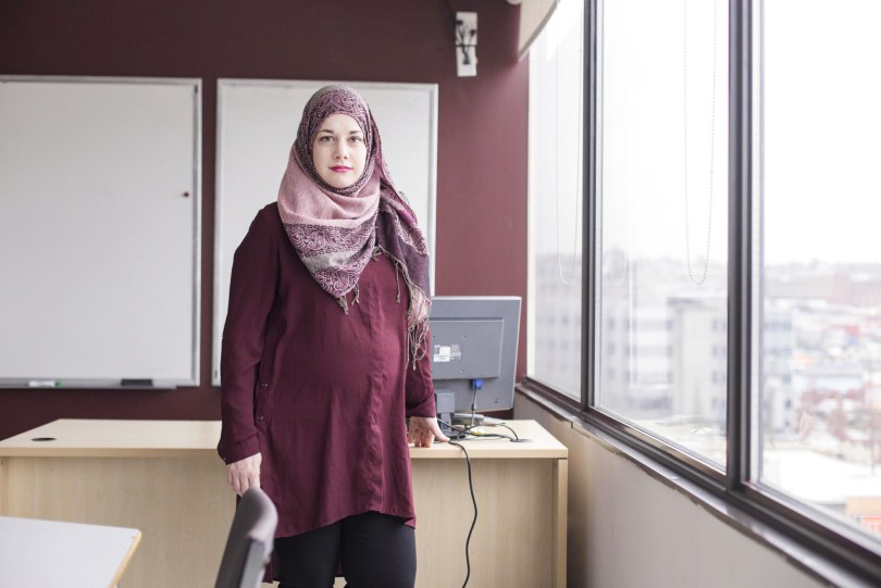 """I'm seeing how Muslim women fight oppression just by being badass women."""