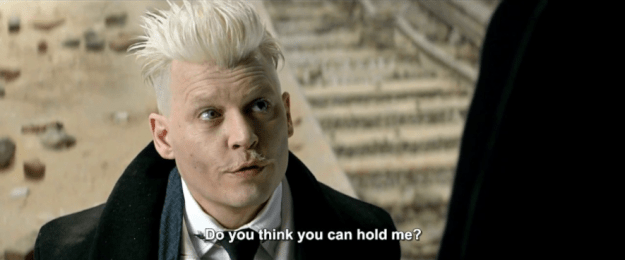 The sequel will follow on from the ending of the first movie, in which we saw dark wizard Gellert Grindelwald (played by Johnny Depp) carted off to prison after he was captured by the American wizarding authorities.