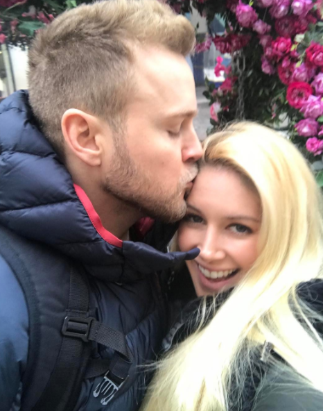 """Heidi Montag, self-described """"Jesus lover. Wife. Mom. Actress. Singer. Lover. Explorer. Entrepreneur. Chef. And lover of life,"""" is about to have her first child with husband Spencer Pratt."""