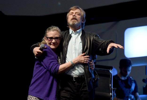 Hamill shared personal stories from his friendship with Fisher — some were funny, some were heartbreaking. Here are the highlights: