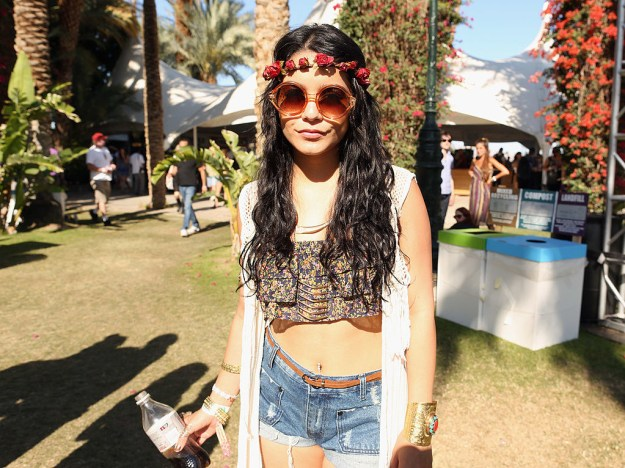 When the general public thinks of Coachella they usually think of Vanessa Hudgens and also Vanessa Hudgens.