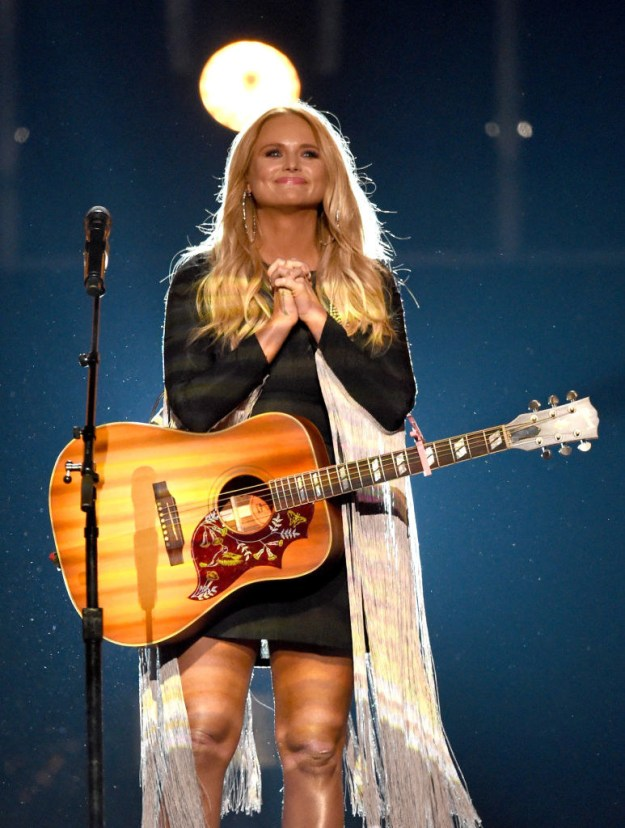 On Sunday night, Miranda Lambert took home Album of the Year for The Weight of These Wings at the Academy of Country Music Awards.