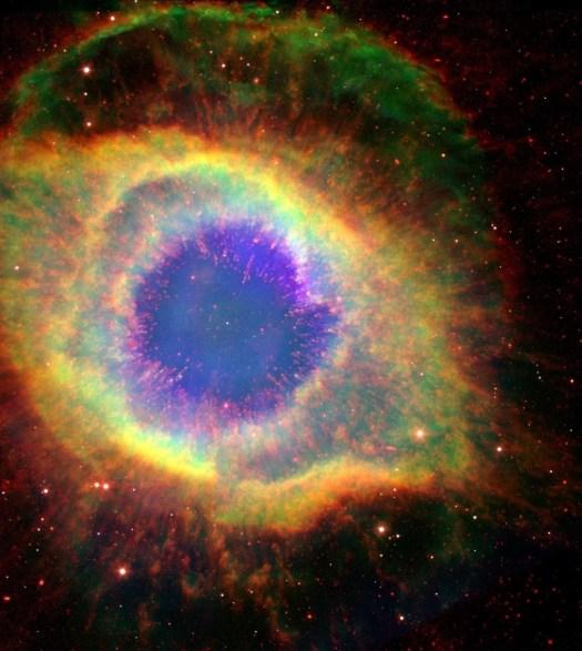 """Algumas pessoas a chamam de """"Olho de Deus""""."""