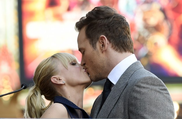 Between premieres, interviews, and Chris receiving his star on the Hollywood Walk of Fame, there are like, hundreds of new pics of The Best Couple Ever.