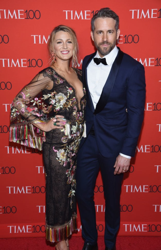 Last night, gorgeous humans Blake Lively and Ryan Reynolds walked the red carpet at the Time 100 Gala for a very chill and casual date night.