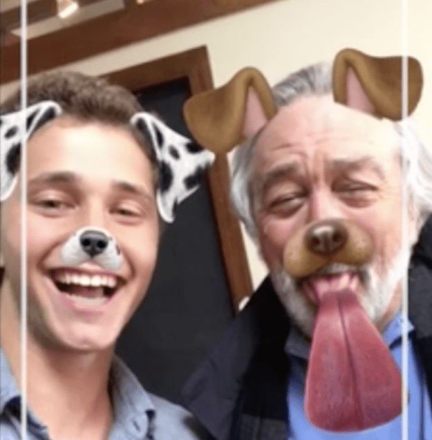 Which is why watching Robert De Niro get schooled on how to use Snapchat totally brings back memories.