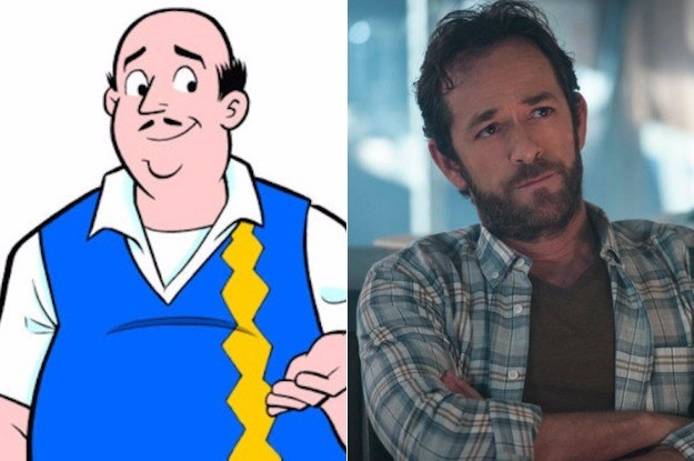 Fred Andrews (Played by Luke Perry)