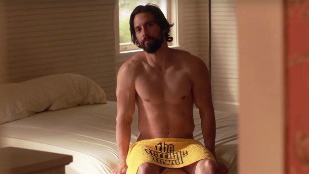 For proof please see Exhibit A, which very clearly shows a very naked Jack wearing nothing but a Terrible Towel.