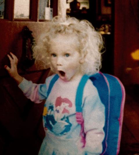THEN: Loved freaking out over stuff.