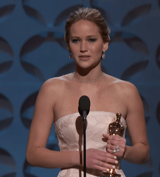OK, Jennifer Lawrence. You know her. No intro needed.