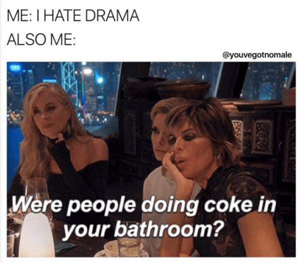 On drama: