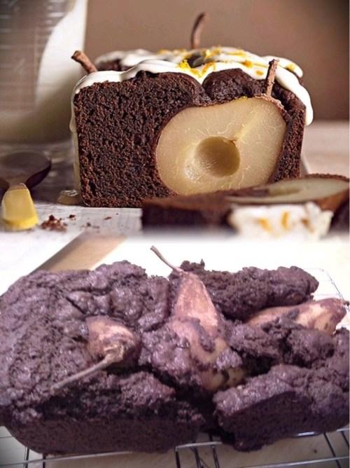 This Pinterest-inspired pear cake.