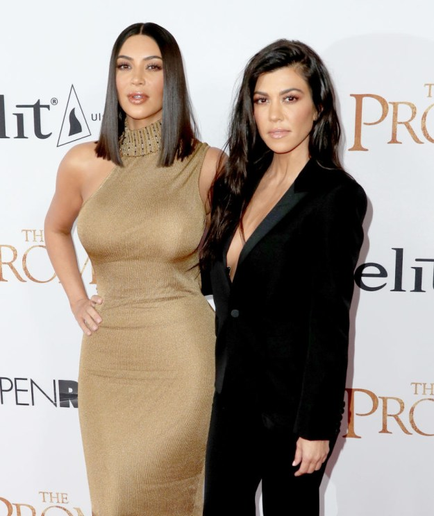 You might recognize these two as Kim Kardashian West and Kourtney Kardashian — sisters and worldwide celebrities.