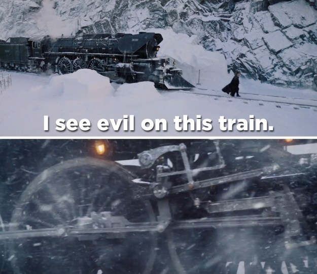 Thirteen strangers are all traveling together through Europe on the Orient Express when someone turns up dead.