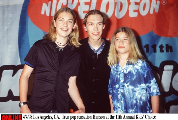 Remember 20 years ago, when the family musical group Hanson rocked the world with their hit single