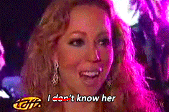 So obviously you're familiar with the Inventor of Music™, Mariah Carey.
