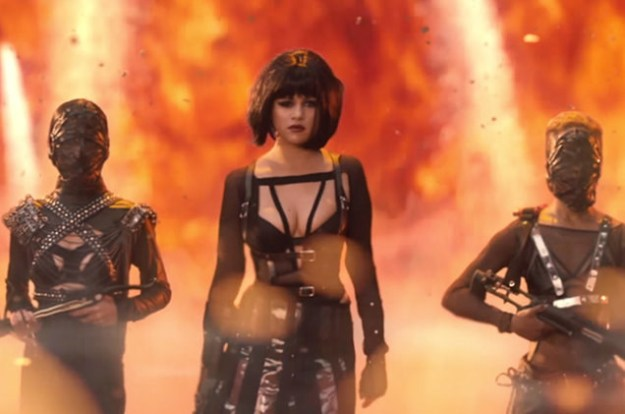 And they support each other professionally. Remember when Selena starred as the villainous Arsyn (aka probably Katy Perry) in Taylor's