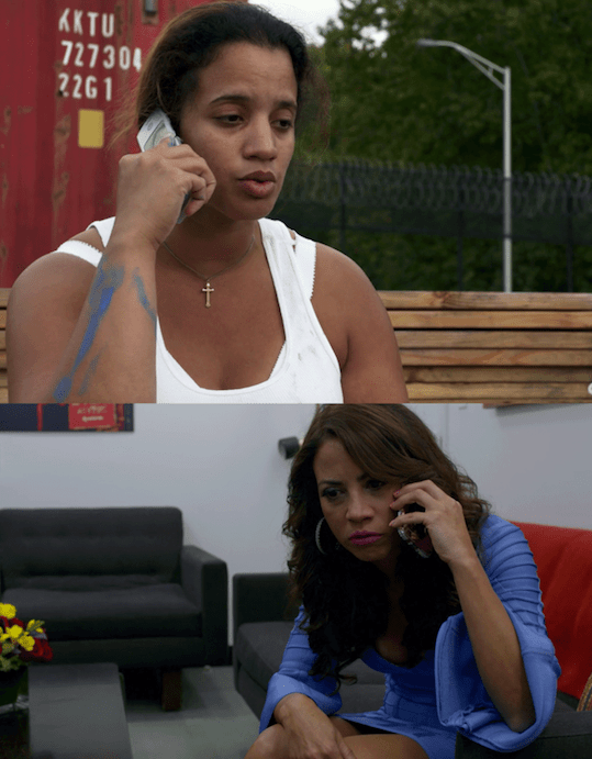 """In Season 5 of Orange Is the New Black, fans gain some more insight into the relationship between Daya (Dascha Polanco) and her mom, Aleida (Elizabeth Rodriguez), thanks to Episode 8, """"Tied to the Tracks."""""""